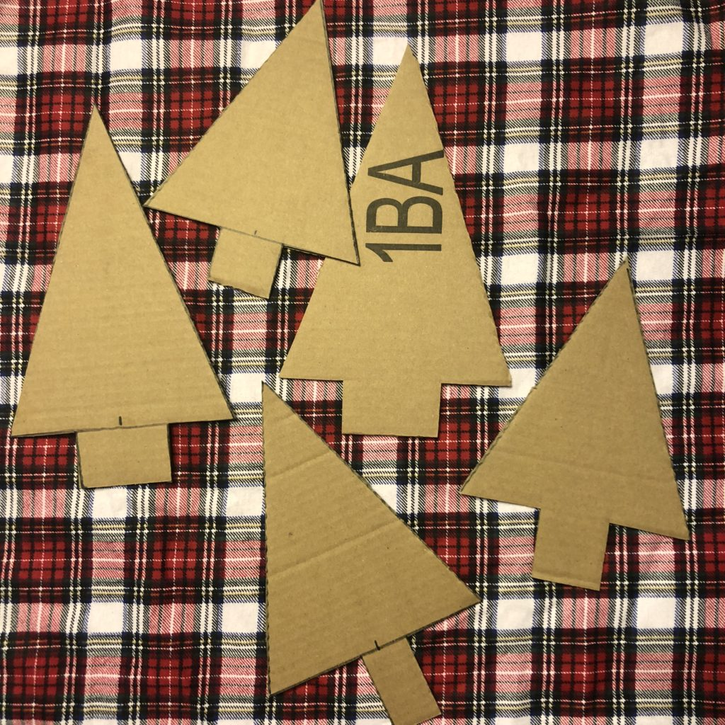 Diy Plaid Christmas Trees Let S Live And Learn