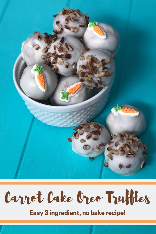 Carrot Cake Oreo Truffles Let S Live And Learn